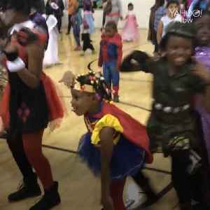 This 7-year-old knows how to get down [Video]