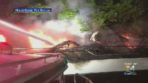 Yacht Goes Up In Flames In Aventura [Video]