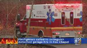 Garage Erupts In Flames In Fox Chapel, Owner Rescues 2 Dogs [Video]