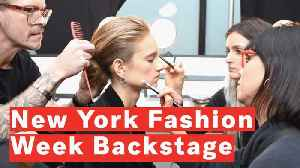Behind The Scenes With The Models At New York Fashion Week [Video]