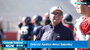Orlando Apollos ready to debut in Alliance of America Football league's inaugural season [Video]