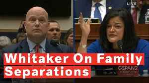 Whitaker Gets Fiery Rebuke After Admitting DOJ Didn't Track Children Separated From Parents [Video]