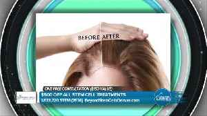Beyond Stem Cells - Build Your Confidence by Learning about Hair Regrowth. [Video]