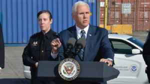 VP Mike Pence visits Port of Baltimore [Video]