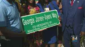 Beloved Activist Georgia Ayres Honored With Street Naming Ceremony [Video]