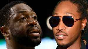Future BANNED From Miami Heat Games After DISSING Dwyane Wade's Child! [Video]