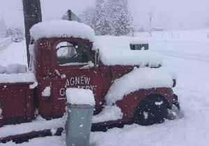 Snowfall Blankets Olympic Peninsula After Storm Hits Pacific Northwest [Video]