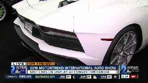 On the Go: Motortrend International Auto Show [Video]