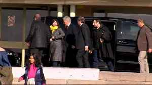 Catalan president visits fellow independence leaders in prison [Video]