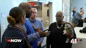 Jackie Robinson's daughter visits Urban Youth Academy [Video]