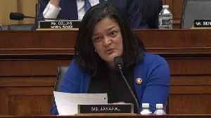 Pramila Jayapal Pushes Matthew Whitaker to Acknowledge Magnitude of Family Separations [Video]