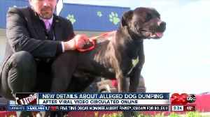 Man who recorded circulating video of alleged dog dumping speaks out [Video]