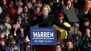 Warren launches 2020 campaign [Video]