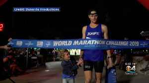 Man Makes History By Completing World Marathon Challenge In Miami [Video]