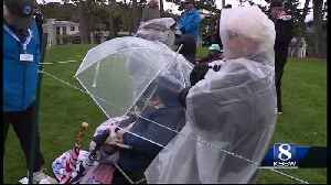 Round 2 of the ATT Pebble Beach Pro-Am suspended Friday due to rain [Video]