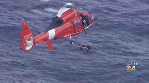 Coast Guard Rescues One Person Following Plane Crash [Video]