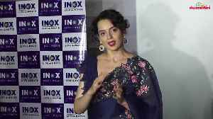 Inki Vaat Lagaa Dungi Ill expose each and everyone in Bollywood Swears Kangana Ranaut [Video]