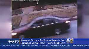 Surveillance Photos Released As Search For Suspect In 1-Year-Old's Shooting Continues [Video]