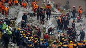 News video: Death Toll Rises In Istanbul Building Collapse