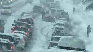 News video: Winter Storm Hits Pacific Northwest