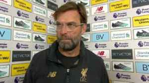 Klopp: We wanted to show a reaction [Video]