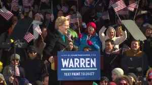 Warren officially launches 2020 campaign [Video]