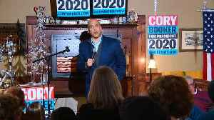 'I'm tired of the trash-talking': Booker in Iowa [Video]