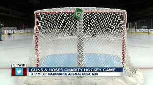 Preview of charity hockey game Saturday between local first responders [Video]