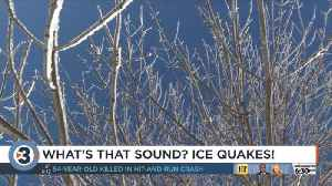 Ice quakes: Why does it sound like it's coming from the roof? Does it affect my home foundation? [Video]