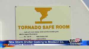 New storm shelter coming to Madison County [Video]