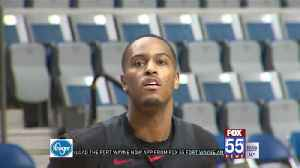 V.J. Beachem Returns to Fort Wayne for First Time as Pro [Video]
