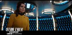 Star Trek: Discovery - Rebecca Romijn Makes Her Debut As Number One On Star Trek: Discovery [Video]