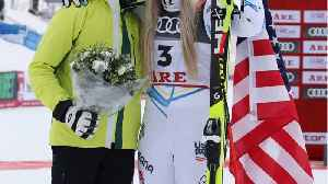 Lindsey Vonn Wins Medal In Last Race [Video]