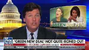 News video: Trump Taunts Ocasio-Cortez's 'Green New Deal': It  Will 'Permanently Eliminate All Planes, Cars, Cows, Oil'