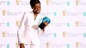 Letitia Wright Receives Rising Star Award [Video]