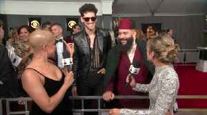 Chromeo Stop By The Red Carpet To Celebrate Their First GRAMMY Nomination [Video]