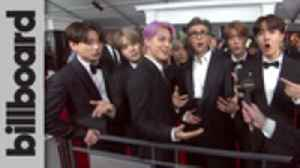 BTS Talks Staying in Their Lane and Enjoying the Joy at 2019 Grammy Awards | Billboard [Video]