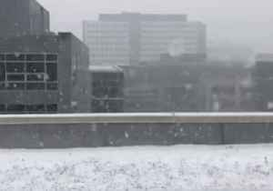 Slow Motion Video Shows Snow Falling in Seattle as City Braces for Storm [Video]