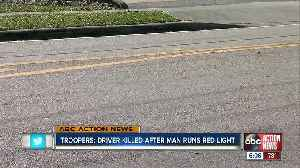 Several injured, one killed in Manatee County when man runs red light trying to escape earlier crash [Video]