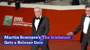 Martin Scorsese's Much Anticipated New Movie Has A Release Date [Video]