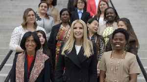 News video: Ivanka Trump Leads Women's Global Development And Initiative Effort
