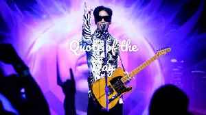 Prince: Quote Of The Day [Video]