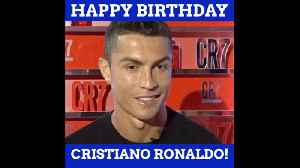 Cristiano Ronaldo Just Turned 34 [Video]