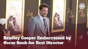 Bradley Cooper Is Snubbed In 'Oscar' Best Director Category [Video]