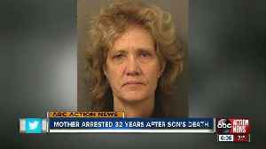 Florida woman arrested for son's death decades later [Video]