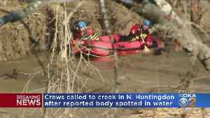 Crews Called To North Huntingdon Creek After Reported Body Spotted In Water [Video]
