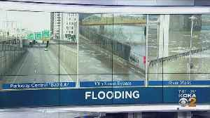 Flood Advisory Issued For Pittsburgh; 10th Street Bypass Frozen Over [Video]