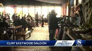 Clint's Saloon is the newest attraction at the AT and T Pebble Beach Pro-Am [Video]