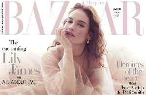 Lily James has directing dream [Video]