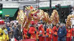 London celebrates Chinese New Year [Video]